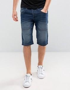 Синие джинсовые шорты Solid - Синий