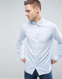 Узкая рубашка с длинными рукавами Jack & Jones Originals - Синий