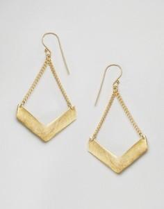 Серьги Made - Золотой