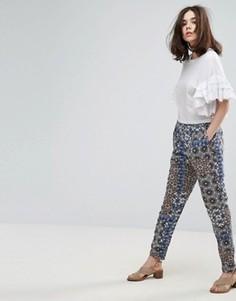 Широкие брюки Vero Moda - Мульти
