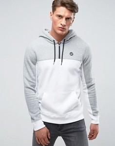 Худи стандартного кроя белого цвета с логотипом Hollister - Белый