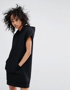 Платье-свитшот All Saints Mod - Черный