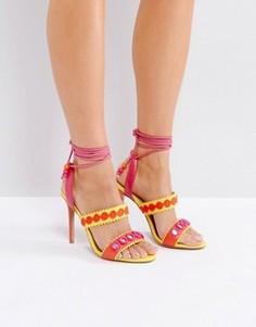 Босоножки на шнуровке и с ремешками Forever Unique - Мульти