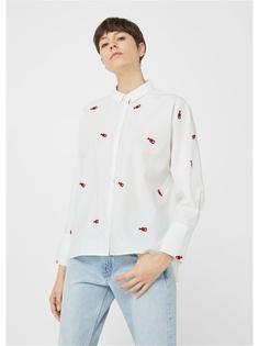 Рубашки Mango