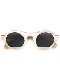круглые солнцезащитные очки Glasogon