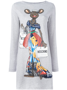 платье-футболка Rat-A-Porter Moschino