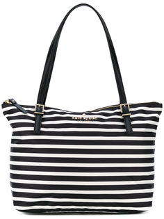 striped shoulder bag Kate Spade