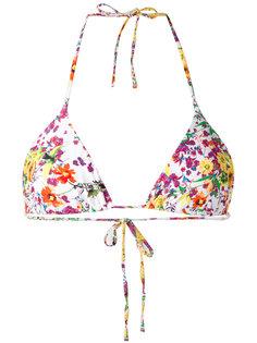floral bikini top Roseanna
