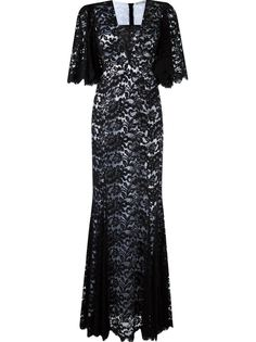 lace maxi dress Martha Medeiros
