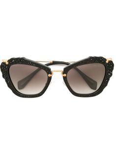 солнцезащитные очки Noir Miu Miu Eyewear