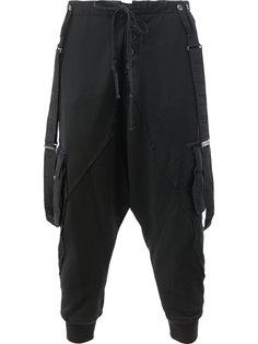 укороченные брюки Shigoto x Greg Lauren  Greg Lauren