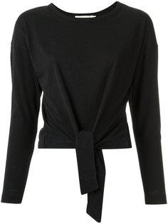 knot detail blouse Giuliana Romanno