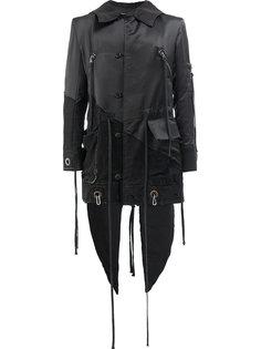 deconstructed asymmetric coat Greg Lauren