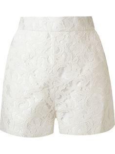 кружевные шорты marescot  с завышенной талией Martha Medeiros
