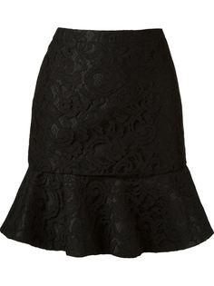 кружевная юбка  marescot с рюшами по подолу Martha Medeiros