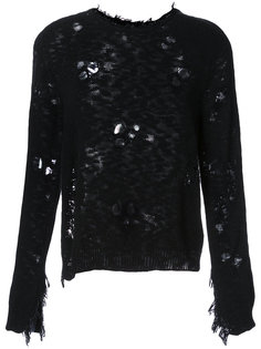 Destroyed Jarld knitted sweater Dodo Bar Or
