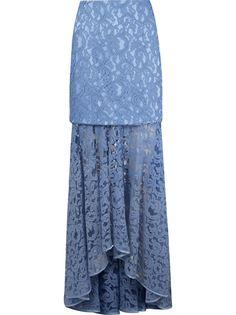 длинная кружевная юбка marescot  Martha Medeiros