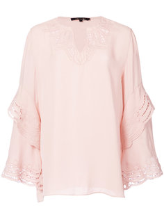 v-neck blouse Kobi Halperin