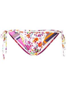 Patchwork print bikini bottom Roseanna