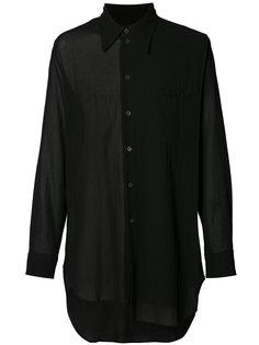 асимметричная рубашка Ann Demeulemeester Grise