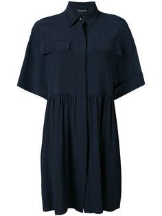 расклешенное мини-платье  Erika Cavallini