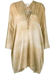 блузка шифт Uma Wang