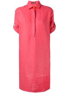 платье с рукавами по локоть Loro Piana