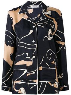 рубашка с принтом Valentino