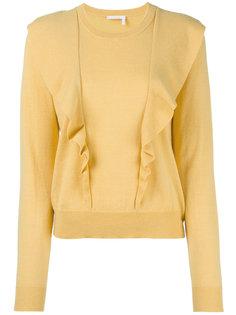 свитер с оборками Chloé