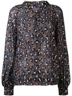 leopard print blouse Dorothee Schumacher