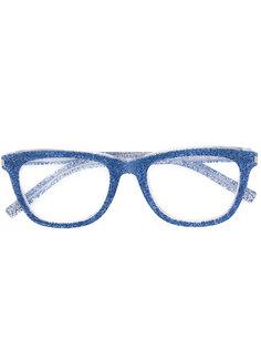 очки в квадратной оправе Saint Laurent