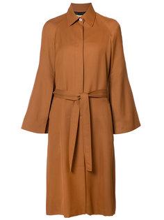 пальто с поясом Rosetta Getty