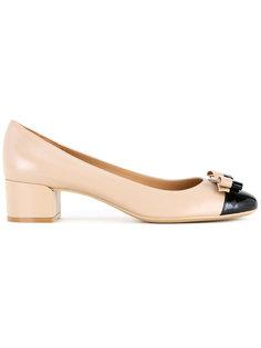 туфли-лодочки с бантом Salvatore Ferragamo