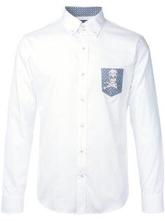рубашка с контрастным карманом Loveless