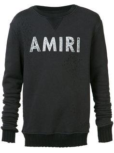 толстовка с логотипом Amiri