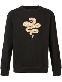 толстовка с вышивкой в виде змеи Maharishi
