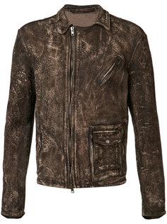 куртка с эффектом потертости Salvatore Santoro