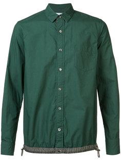 рубашка со стяжкой Sacai