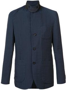 """текстурный пиджак в стиле """"милитари"""" Sacai"""
