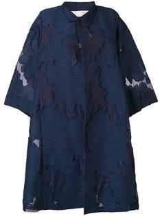 пальто с вышивкой  Mantu