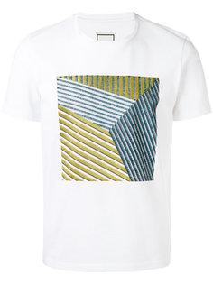 футболка с принтом  Wooyoungmi