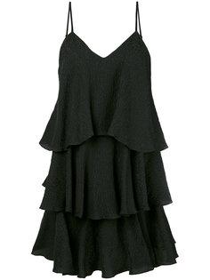 многоярусное платье с оборками Paul & Joe