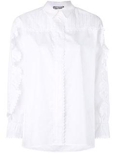 рубашка с оборками на рукавах Paul & Joe