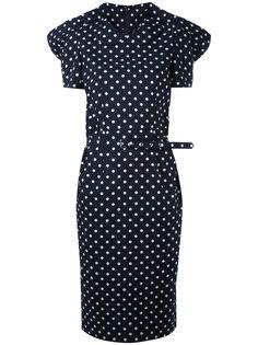 платье с узором в горох Comme Des Garçons