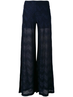 трикотажные брюки M Missoni