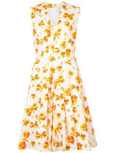 платье с бабочками Carolina Herrera