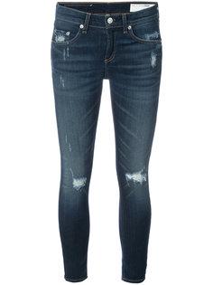 укороченные джинсы Rag & Bone /Jean