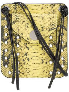 сумка с принтом змеиной кожи и шнурами 3.1 Phillip Lim