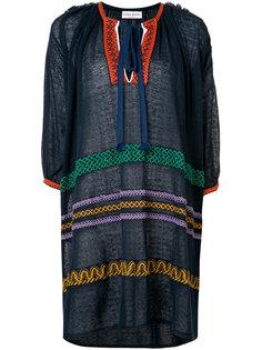 платье-туника с вышивкой Sonia Rykiel