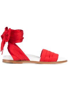 сандалии на плоской подошве Marquesalmeida